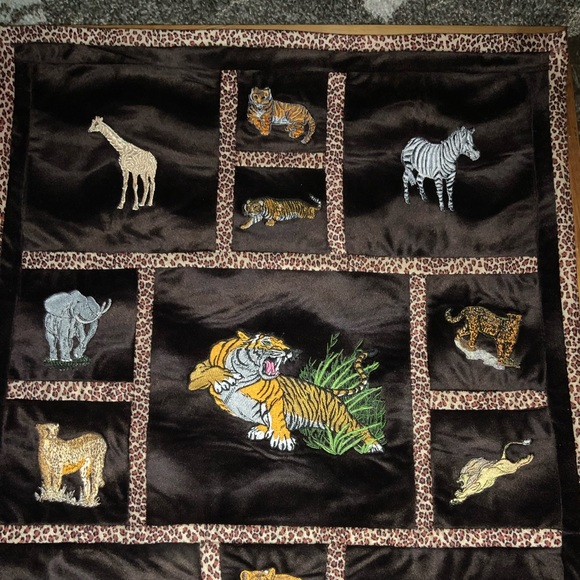 Hand Crafted Other - Embroidery Quilted Wall Hanging